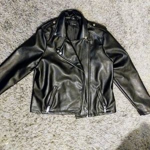 Charlotte Russe plus size faux leather jacket